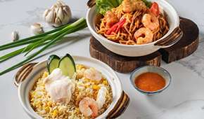 Jiak Modern Tze Char - 1-for-1 Seafood Fried Rice