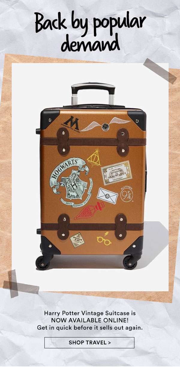 Shop The Vintage Harry Potter Suitcase