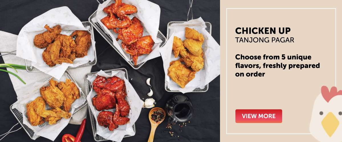 Chicken Up - Choose from 5 unique flavors, freshly prepared on order