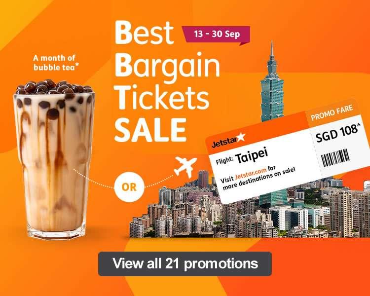 Best Bargain Tickets Sale