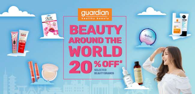Beauty Around the World | 20% off Selected Beauty Brands