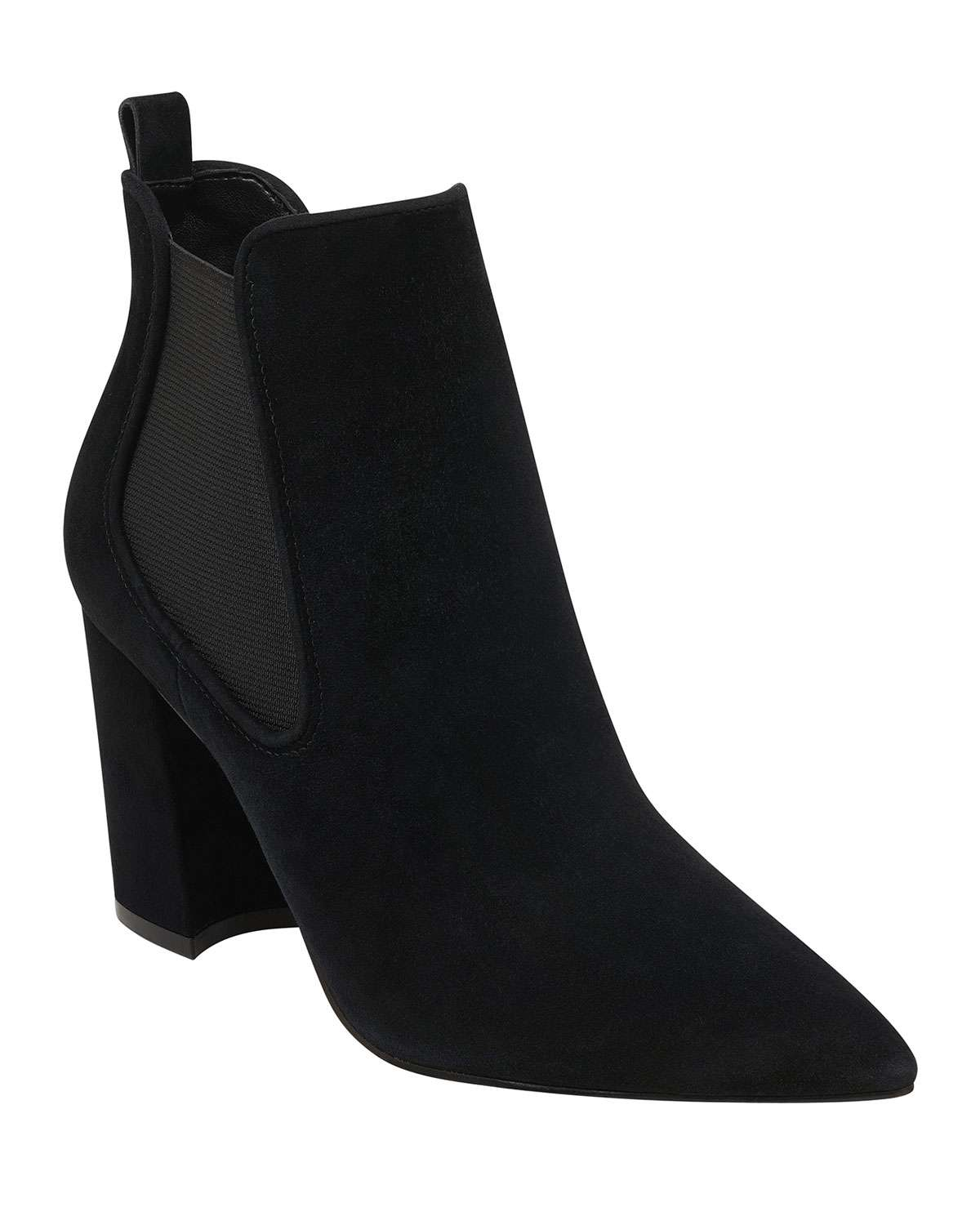 Taci Suede Ankle Booties