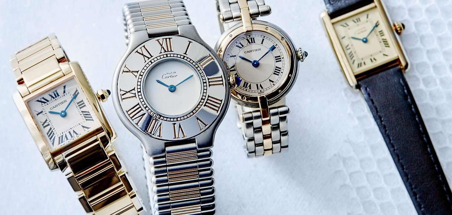 Vintage Rolex, Cartier & More for Women