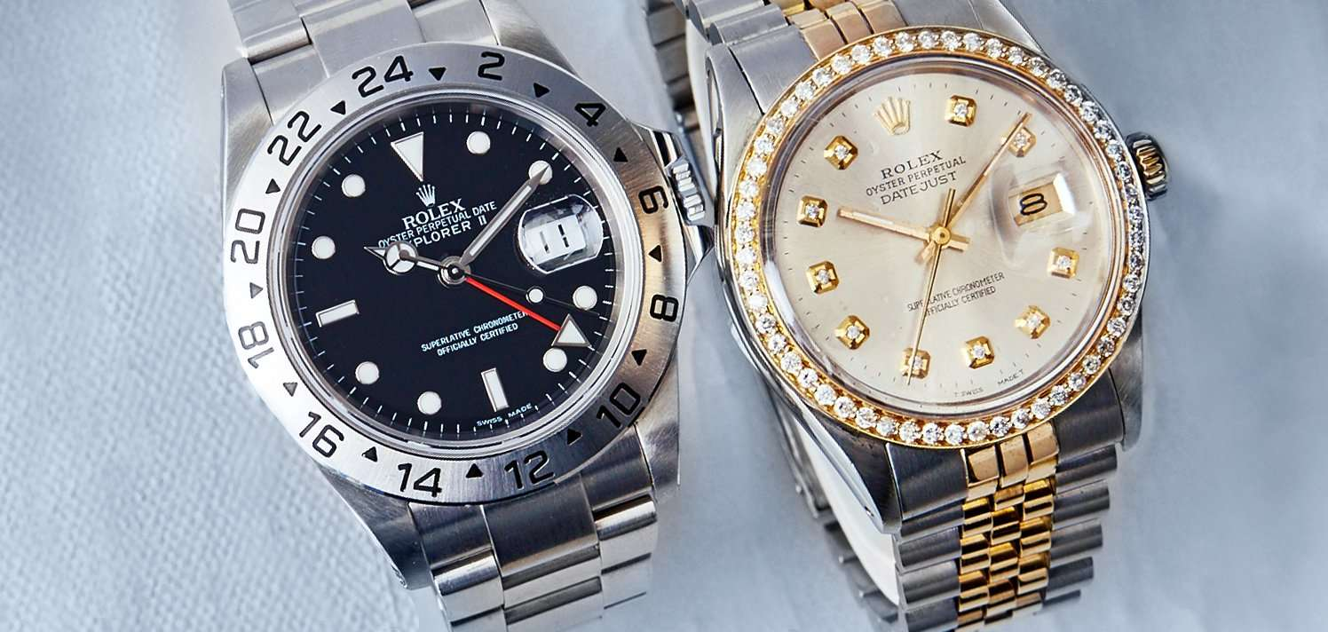 Vintage Rolex, Cartier & More for Men