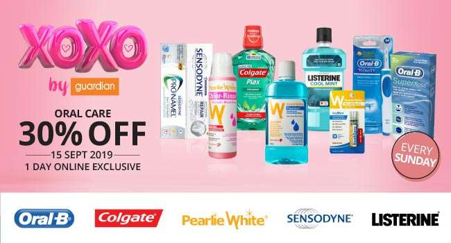 xoxo | 30% off Oral Care | 1 Day Only Online Exclusive