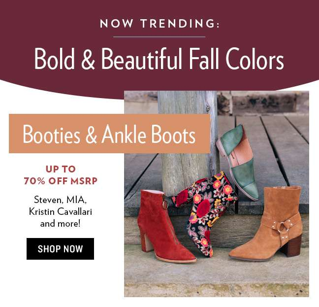 Fall Colors: Booties