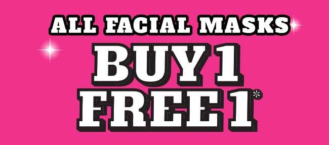 All Facial Masks | Buy 1 Free 1*