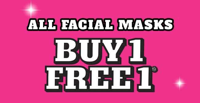 All Facial Masks | Buy 1 Free 1