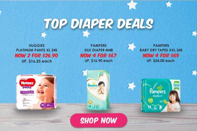 Top Diaper Deals