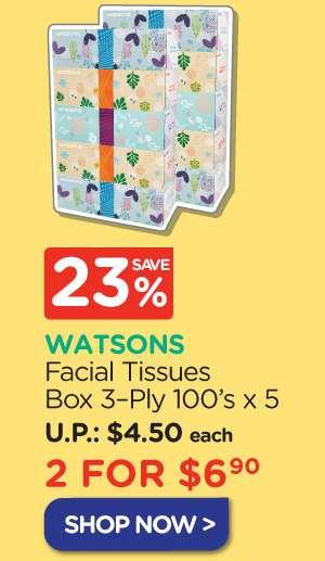 Facial Tissues Box