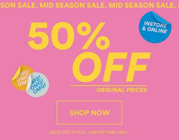 Mid Season Sale | Shop Now