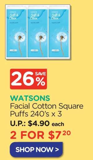 Facial Cotton Square Puffs