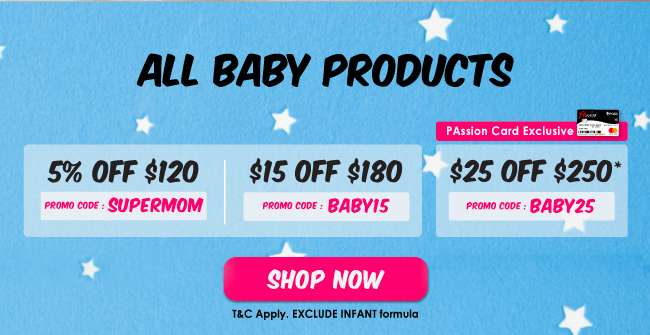 More savings across all Baby Products