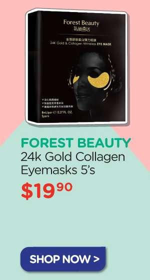 Forest Beauty 24k Gold Collagen Eyemasks