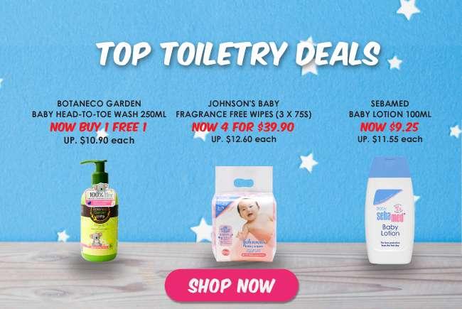 Top Toiletry Deals
