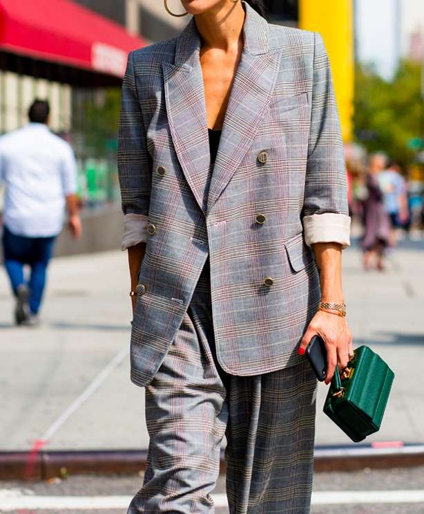 The no-brainer: slouchy tailoring