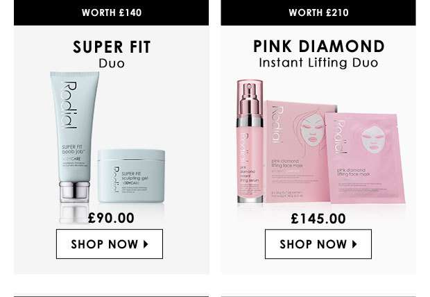 Super Fit Duo & Pink Diamond Instant Lifting Duo