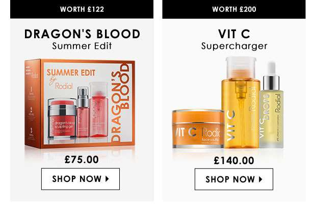 Dragon's Blood Summer Kit & Vit C Supercharger