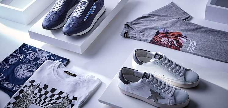 Men's Luxe Sneakers & Tees to Pair