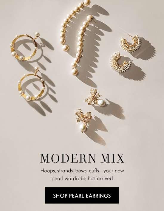 Shop Pearl Earrings