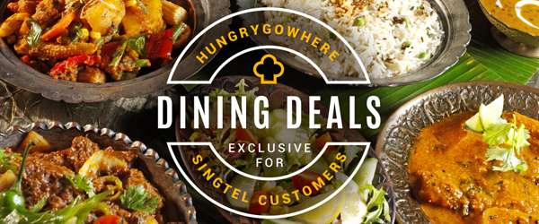 Singtel Exclusive Dining Deals - Savour your favourite dishes at 50% off mains, 1-for-1 deal now